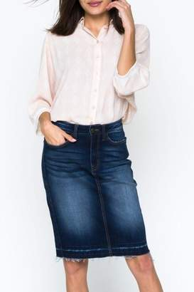 Downeast Basics Denim Skirt