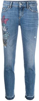 Liu Jo rhinestone Minnie jeans