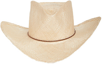 GLADYS TAMEZ MILLINERY Reid Straw Hat in Natural | FWRD
