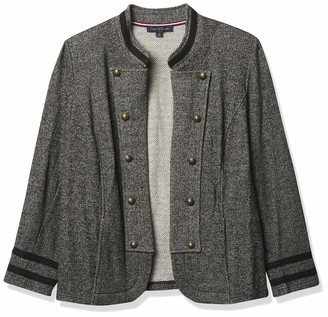 Tommy Hilfiger Women's Tommy X Gigi Hadid Open Front Band Jacket