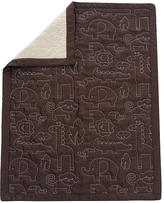 Mod Pod Pop Jungle Quilted Blanket