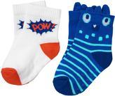 Gymboree Monster & Pow Socks