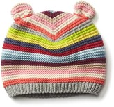 Gap Bright stripe bear hat