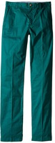Lacoste Kids Cotton Gabardine Flat Front Chino (Little Kids/Big Kids)