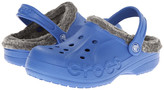 Crocs Baya Heathered Lined Clog (Toddler/Little Kid)