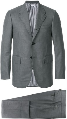 Thom Browne Wide Lapel Wool Twill Suit