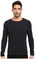 BOSS ORANGE Terris 1 Long Sleeve Heather Waffle T-Shirt