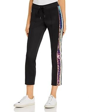 Pam & Gela Sequin Stripe Track Pants