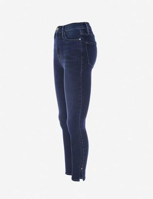 Frame Ali cigarette high-rise stretch-denim jeans