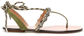 Aquazzura Surf Flat Sandals