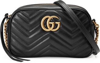 Gucci GG Marmont small matelasse shoulder bag
