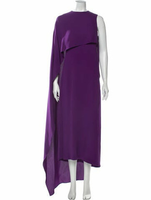 Narciso Rodriguez 2020 Midi Length Dress Purple