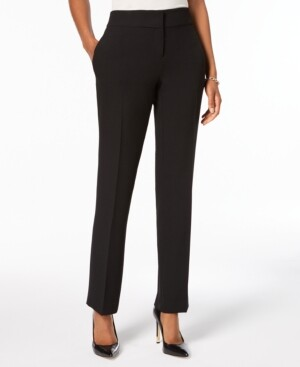 Kasper Slim Straight-Leg Modern Trousers