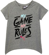 Puma My Games My Rules Tee (Big Girls)