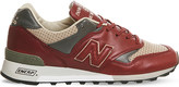 New Balance M577 leather trainers