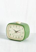 Kikkerland It's About Timeless Clock in Fern