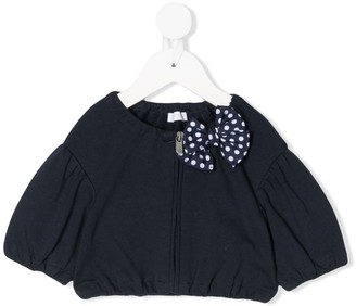 Il Gufo Pleated Detail Jacket