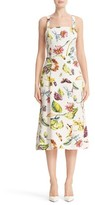 ADAM by Adam Lippes Women's Floral Print Crepe Dress