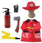 I Play iplay, ilearn Fire Chief Role Play Costume Set