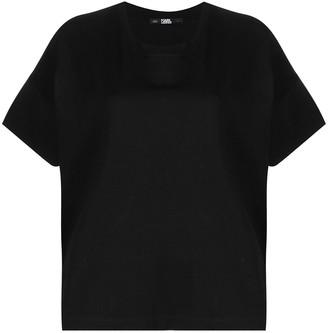 Karl Lagerfeld Paris relaxed-cut T-shirt