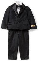 Class Club Gold Label Little Boys 2T-7 Button-Front Shirt, Bow-Tie, Pant & Jacket 4-Piece Tuxedo Set
