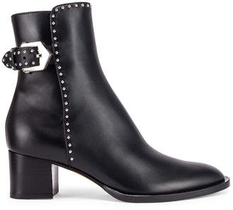 Givenchy Elegant Studs Ankle Boots in Black | FWRD
