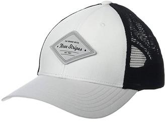 adidas Printed Mesh Back Hat (White) Caps