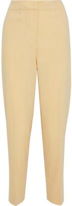 Theory Cropped Wool-blend Straight-leg Pants