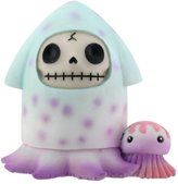 Summit Furry Bones Squeed Purple and Blue Figurine