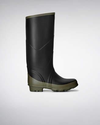 Hunter Argyll Bullseye Full Knee Wellington Boots