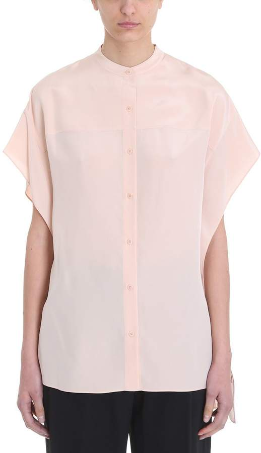 Diane von Furstenberg Mao Collared Shirt