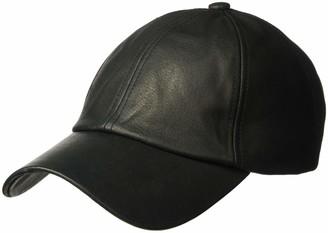Michael Stars Women's Luxe Leather Cap