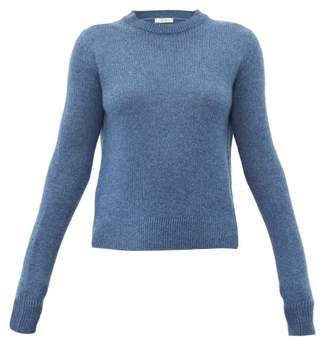 The Row Muriel Cashmere Sweater - Womens - Blue