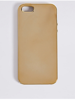 M&S Collection iPhone 5/5S Metallic Phone Case