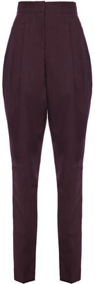 Etro Mohair And Wool-blend Tapered Pants