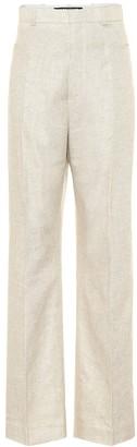 Jacquemus Le Pantalon Sauge linen-blend pants