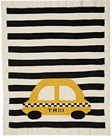 Estella Taxi-Knit Organic-Cotton Blanket