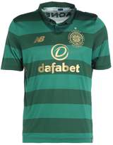 New Balance Celtic Glasgow Away Sports Shirt Verdant Green
