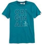 Original Penguin Boy's Geo Print T-Shirt
