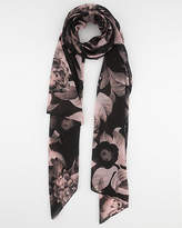 Le Château Floral Print Woven Lightweight Scarf
