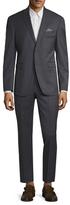 Original Penguin Wool Micro Plaid Notch Lapel Suit