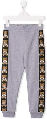 Moschino Kids teddy print sweatpants