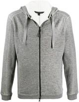 John Varvatos zip-up hoodie