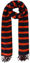 BOSS ORANGE Niris Striped Scarf