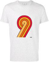 Ami Alexandre Mattiussi 9 print T-shirt