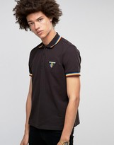 Love Moschino Tipped Polo Shirt With Logo