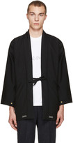 Visvim Black Wool Dotera Coat