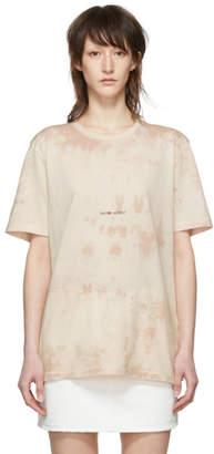 Saint Laurent Pink Tie-Dye Rive Gauche T-Shirt