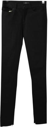 Joseph Black Cotton - elasthane Jeans