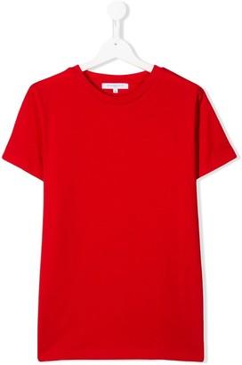 Givenchy Kids short sleeve logo stripe T-shirt